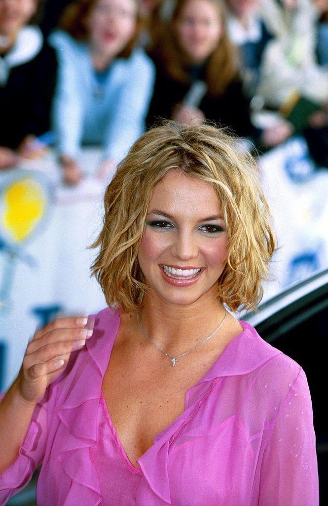 Britney at the Capital Radio Awards,London,2000
