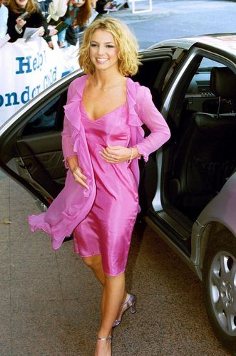 Britney at the Capital Radio Awards,London,2000