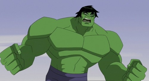 Avengers: Earth's Mightiest 超能英雄 壁纸 probably with 日本动漫 titled Bruce Banner - Hulk