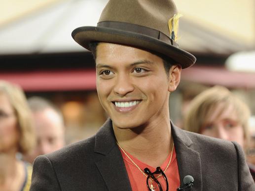 Bruno smiles