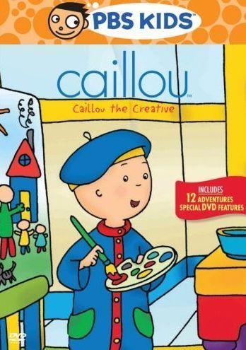 Caillou: Caillou The Creative DVD