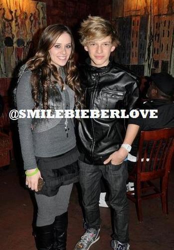 Caitlin Beadles and Cody Simpson