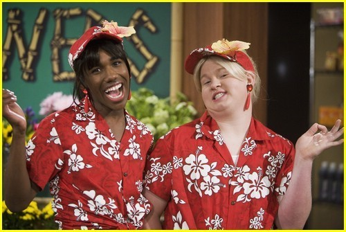 Check it out!! Its nico and grady as sonny and tawni the check it out girls!