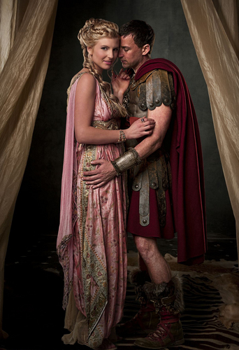 spartacus blood amp sand images claudius amp ilithyia hd