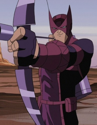 Avengers: Earth's Mightiest ヒーローズ 壁紙 titled Clint Barton - Hawkeye