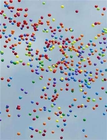 Colorful balloons to make u happy :)