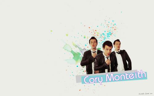 CoryMonteith fonds d'écran !