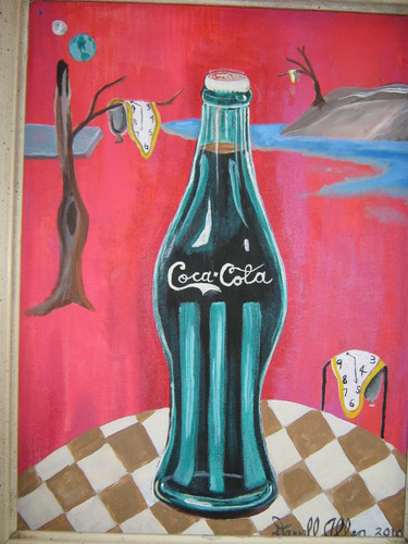 Coke wallpaper called Dali and Coke