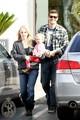 David Boreanaz.,his wife and daughter...!