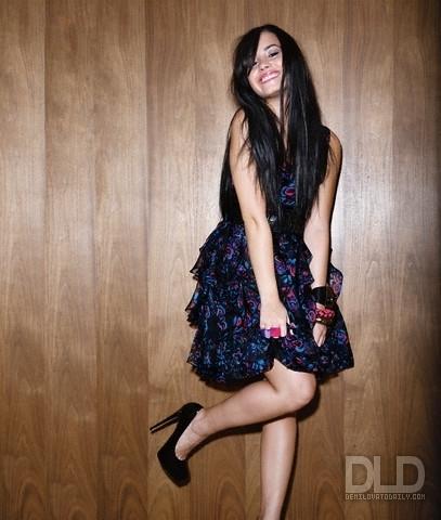 Demi Lovato - A Barrett 2009 for WWD magazine photoshoot