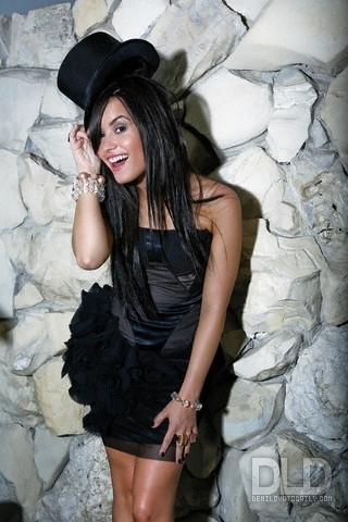 Demi Lovato - A Barrett 2009 for WWD magazine photoshoot