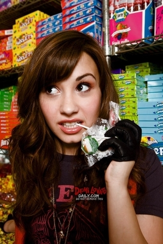 Demi Lovato - G Glasser 2008 for Entertainment Weekly magazine photoshoot