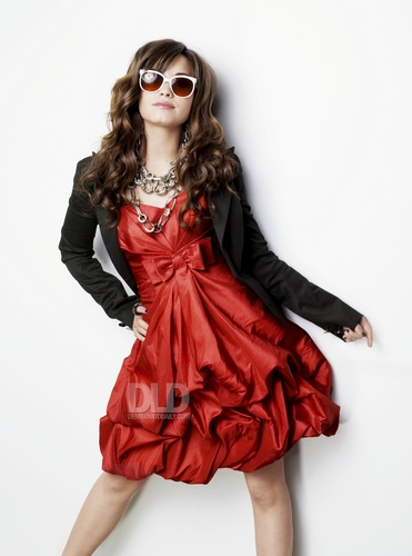 Demi Lovato - K Willardt 2008 for Seventeen Prom magazine photoshoot