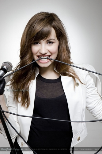 Demi Lovato - S Nields 2008 for Don't Forget album photoshoot