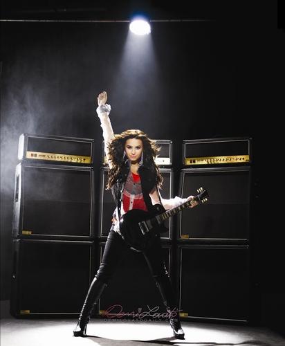 Demi Lovato - S Nields 2009 for Demi Lovato 2009 Summer Tour photoshoot