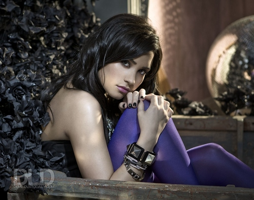Demi Lovato - S Nields 2009 for Here We Go Again album photoshoot