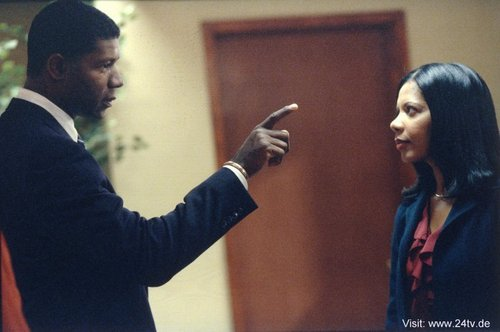 Dennis Haysbert & Penny Johnson Jerald as David & sherry Palmer