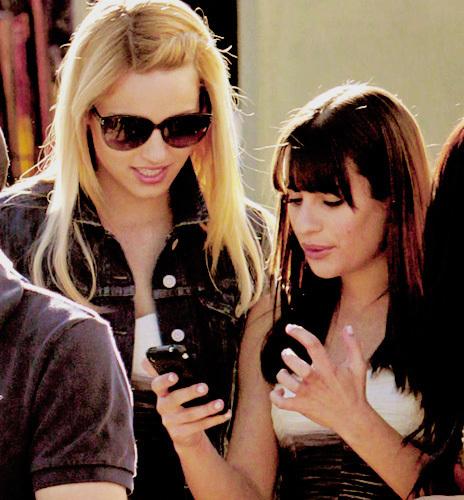 Di & Lea ♥ Set Glee