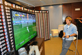 Diego Forlan & Ricardo Carvalho played a virtual derby on FIFA11