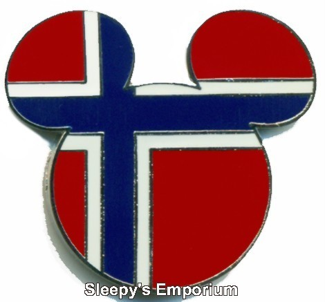 Disney Norway Pin