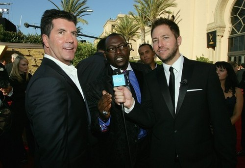 EXTRA At The 59th Annual Emmy Awards
