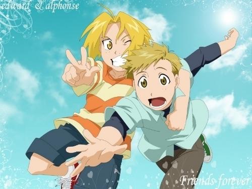 Edward and Alphonse
