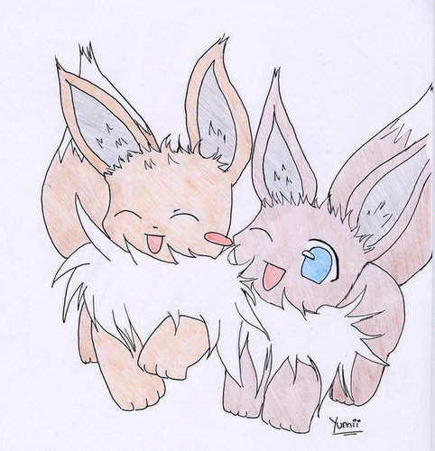 Eevee 바탕화면 possibly containing 아니메 entitled Eevee