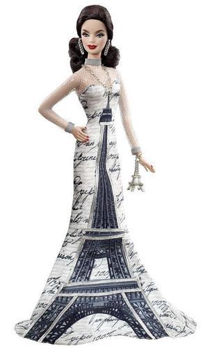 Eiffel Tower Barbie