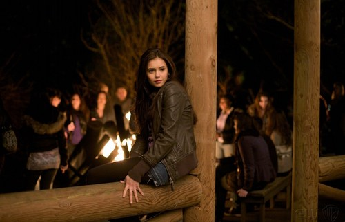 Elena Gilbert wallpaper possibly with a guillotine titled Elena Gilbert