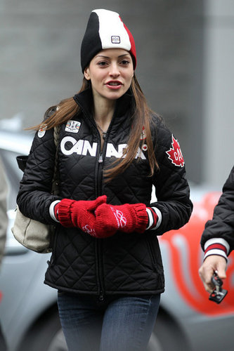 Emmanuelle @ Vancouver Olympics - Feb 2010