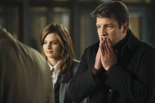 Castle wallpaper containing a well dressed person called Episode 3.10 - Last Call - Promotional Photos