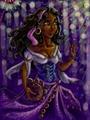 Esmeralda in the Cathedral - esmeralda fan art