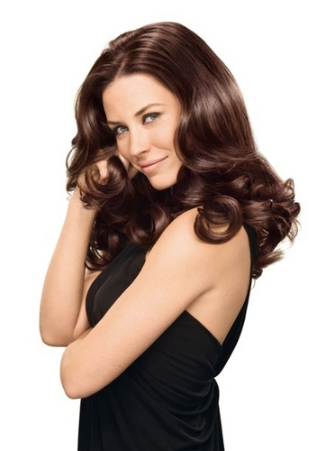 Evangeline Lilly - L'Oreal Crème Gloss Color Photoshoot