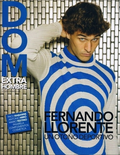 "Fernando Llorente wallpaper possibly containing a sign called Fernando Llorente ""DOM"" Magazine (11/10/09)"