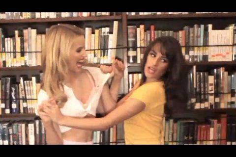 dianna agron and lea michele gq. GQ Magazine - November 2010