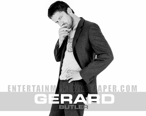 Gerard Butler wallpaper containing a business suit, a well dressed person, and a suit titled Gerard Butler