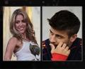 Gerard Piqué Shakira....