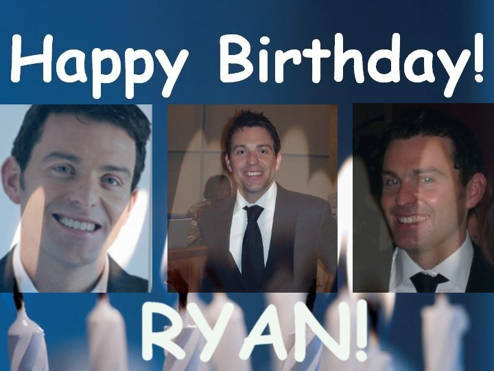 HAPPY BIRTHDAY RYAN! - Ryan Kelly 720x540