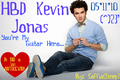 HBD KEVIN - the-jonas-brothers fan art