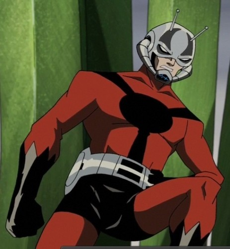 Avengers: Earth's Mightiest ヒーローズ 壁紙 probably containing アニメ titled Hank Pym - Ant-Man/Giant-Man