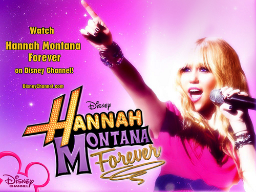 Hannah Montana Forever EXCLUSIVE ディズニー 壁紙 によって dj !!!