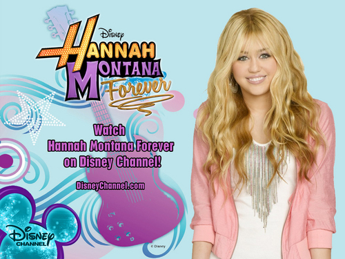 Hannah Montana wallpaper possibly containing a portrait entitled Hannah Montana Forever EXCLUSIVE DISNEY Wallpapers by dj !!!