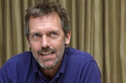 Hugh @ Press Conference in LA