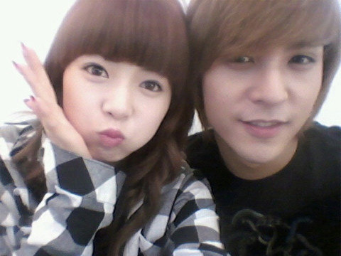 hyuna & Dongwoon. (B2ST)