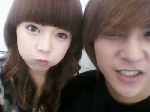 4minute wallpaper containing a portrait called Hyuna & Dongwoon (old)