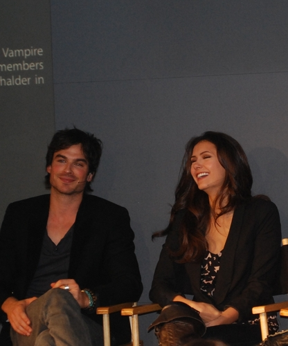 Ian/Nina ღ Old Pics - ian-somerhalder-and-nina-dobrev Photo