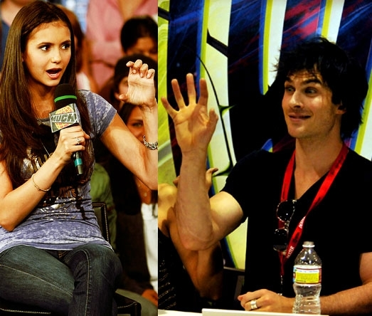 Ian/Nina ღ - ian-somerhalder-and-nina-dobrev fan art