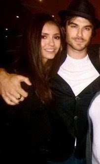 Ian&Nina rare ♥ - ian-somerhalder-and-nina-dobrev Photo