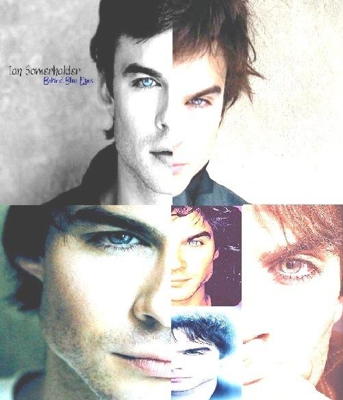 Ian's eyes - The Vampire Diaries Fan Art (16733890) - Fanpop