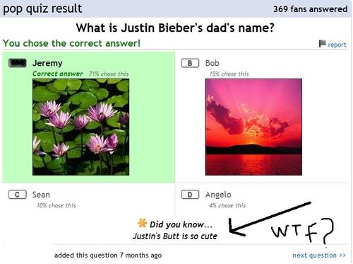 JB's Butt?